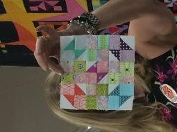 Block 2, The Splendid Sampler by Kathy S.