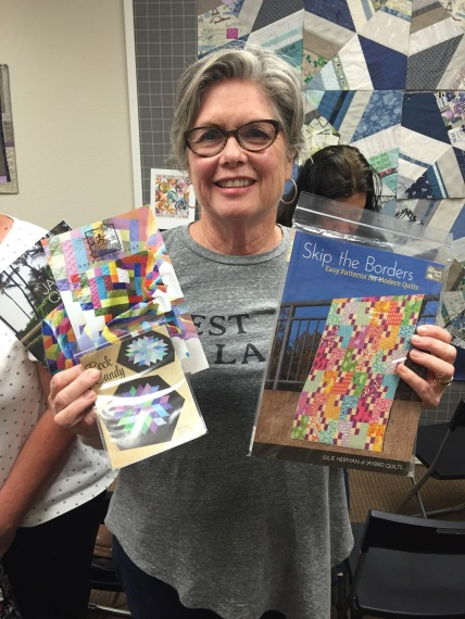 Gail & patterns from JayBird Quilts
