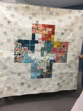 "Kathy's ""It all Add Up"" (quilting by Brandwine)"