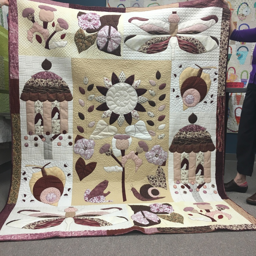 Karen M: Example of quilting