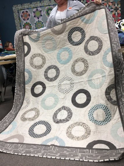 Susie's first Modern quilt