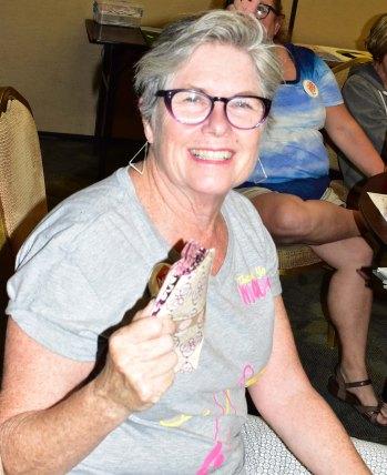 Door prize winner - Gail