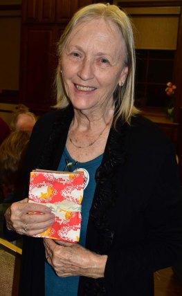 Door prize winner - Pat